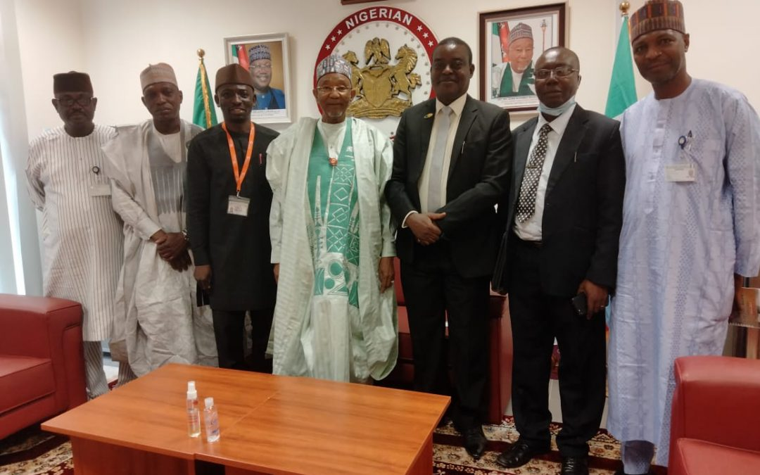 COURTESY VISIT TO THE SENATE CHAIR, COMMITEE ON FOREIGN AFFAIRS
