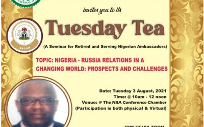 NIGERIA-RUSSIA RELATIONS IN A CHANGING WORLD: PROSPECTS & CHALLENGES