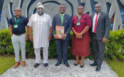 AARE DELE MOMODU PAYS A COURTESY VISIT TO THE NIIA